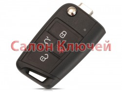 Ключ VW Golf USA 15-19 315Mhz AES Megamos KeyLess NBGFS12P01 5G6959752AN