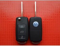 Ключ выкидной Volkswagen Touareg на 3 кнопки корпус
