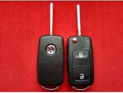 Выкидной корпус ключа Volkswagen на 2 кнопки с 10г Аналог