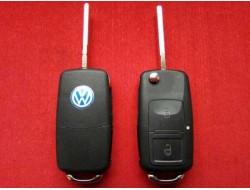 Выкидной корпус ключа Volkswagen на 2 кнопки до 10г