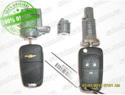 Chevrolet Cruze комплект замков + 2 выкидных ключа